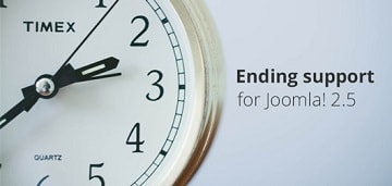 Ending support for Joomla 2.5 components